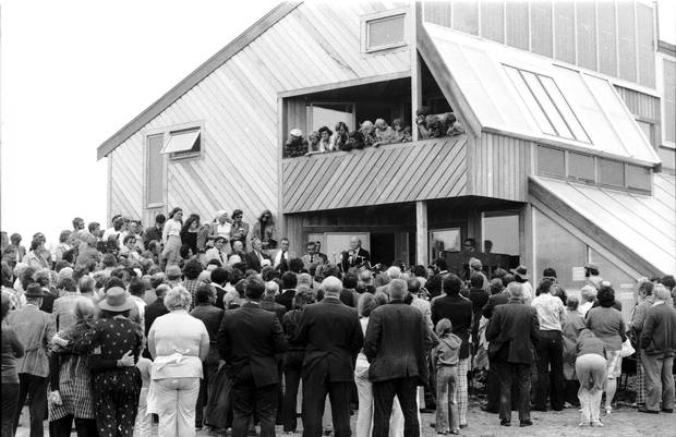 The Ark drew many visitors in its early years, but it was demolished in the 1990s to be replaced by an inn.