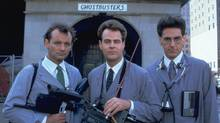 Ghostbusters (1984) with Bill Murray, Dan Aykroyd and Harold Ramis. (Kobal Collection/ Columbia)