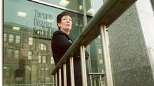 Irene Atkinson has been a Toronto school trustee since 1972 and is pictured in this 2000 file photo. A fire inside Ms. Atkinson's High Park Boulevard home this past weekend has left her in hospital, on life support and in an induced coma, as she is treated for smoke inhalation. (DEBORAH BAIC/THE GLOBE AND MAIL)