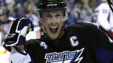 Tampa Bay Lightning center Vincent Lecavalier. (AP Photo/Chris O'Meara) (Chris O'Meara/AP)