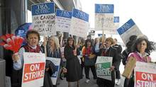 Numerous employers, including Air Canada, have been taking steps to close their traditional defined-benefit employee pension plans. (Graham Hughes/The Canadian Press/Graham Hughes/The Canadian Press)