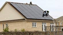 The price of solar panels Pure Energy Inc. buys has dropped from about $2.50 per watt in 2010 to around $1.50 per watt, says company head Chris Stern. (Pure Energy photo/Pure Energy photo)