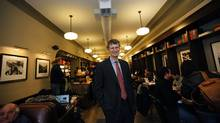 Starbucks Canada president Colin Moore is counting on new product launches this year to help shore up sales and improve profits. (Deborah Baic/Deborah Baic/The Globe and Mail)