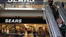 Sears flagship store at Toronto Eaton Center on Dundas St. in Toronto on April 25, 2013. (Fernando Morales/The Globe and Mail)
