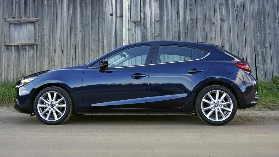 review: 2017 mazda3 is a treat to drive, but falls short on space