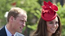 Prince William, Duke of Cambridge and Catherine, Duchess of Cambridge attend Canada Day Celebrations at Parliament Hill on day 2 of the Royal Couple's North American Tour on July 1, 2011 in Ottawa. (Mark Large - WPA Pool / Getty Images/Mark Large - WPA Pool / Getty Images)