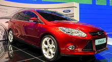 2012 Ford Focus: This is the European-bred model and it rides on a global platform intended to account for a total of two million in sales. The new Focus arrives early next year. Ford of Canada CEO Dave Mondragon expects the new Fiesta and Focus to double Ford's passenger car sales in Canada. (Antoine Antoniol)