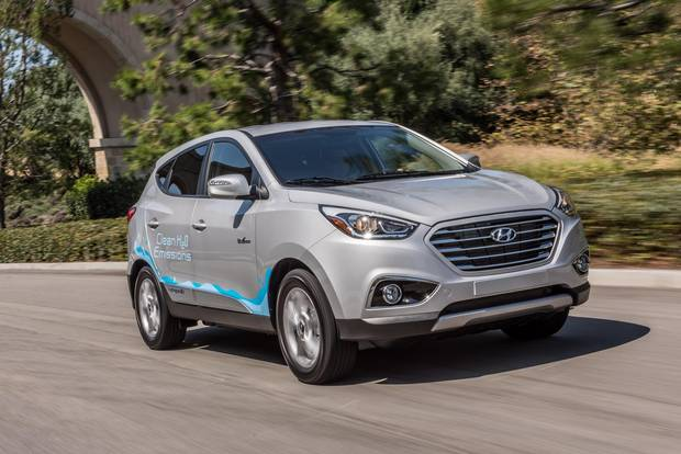 2017 Tucson Fuel Cell.