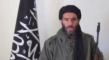Mokhtar Belmokhtar, identified by the Algerian interior ministry as the leader of a militant Islamic group, is pictured in a screen capture from an undated video distributed by the Belmokhtar Brigade obtained by Reuters, Jan. 16, 2013. Mr. Belmokhtar is suspected of leading the deadly assault on an Algerian natural gas plant. (REUTERS)