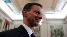 Nigel Wright, Stephen Harper's chief of staff, is pictured in 2010. Mr. Wright has stepped down from his position in the midst of a scandal surrounding his $90,000 payment to Senator Mike Duffy over the latter's improper housing expenses. (Chris Wattie/Reuters)