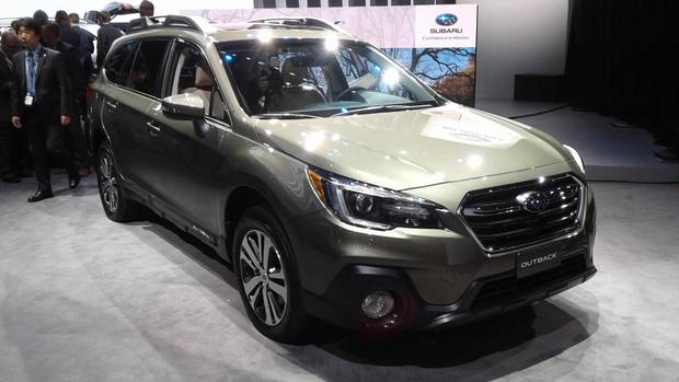 There are big changes inside the Subaru Outback, including a modern dashboard and new infotainment system.