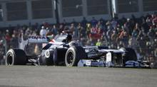 Williams driver Pastor Maldonado of Venezuela (David J. Phillip/The Associated Press)