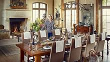 Jill Kantelberg's dining room (Shannon Ross for The Globe and Mail/Shannon Ross for The Globe and Mail)
