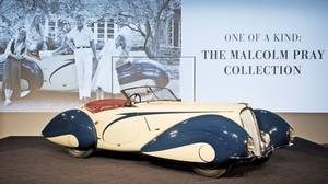 This rare 1937 Delahaye sold for $6.6-million.