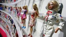 The partnership will give both boys and girls a new way to play with their favourite toy brands, Mattel said. (MARK LENNIHAN/REUTERS/MARK LENNIHAN/REUTERS)