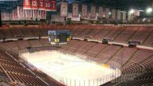 An empty Joe Louis Arena in Detroit is seen in this file photo. (CARLOS OSORIO/AP)