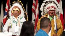 Ontario regional chief Stan Beardy, shown in Toronto on July 17, 2012, has called for a Confederacy of Nations meeting to address Ottawa's education-reform measures, effectively sidestepping the Assembly of First Nations. (Michelle Siu/THE CANADIAN PRESS)