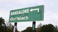 Bangalore direction signboard (N Vasuki Rao/Getty Images/iStockphoto)