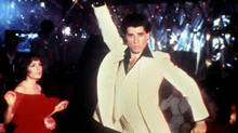 The future sucks: Take away the leisure suit and Tony Manero (played by John Travolta) might well have been kin to punk rebel Johnny Rotten. (Bettman)