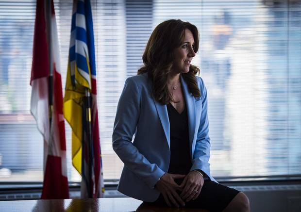 Carolyn Rogers, the CEO of the Financial Institution Commission of B.C., which ultimately oversees the industry's self-regulator, the Real Estate Council of B.C.