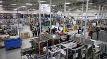 Magna Closures Dortec Industries in Markham Feb 19, 2013. (Moe Doiron/The Globe and Mail)