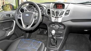 2011 Ford Fiesta with manual shift.