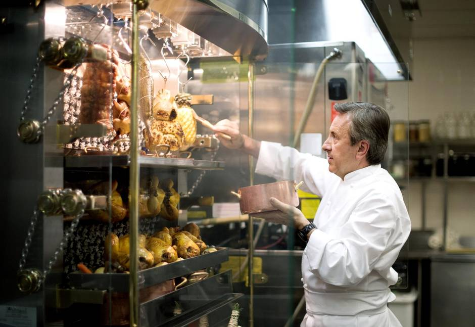 Daniel Boulud Had A Rotisol Rotisserie Machine Installed At Café Boulud To  Make Items Such As Caramelized Pineapples. (Photos By Darren Calabrese For  The ...