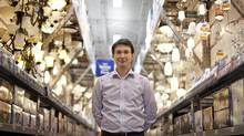 Philippe Krivicky, Rona vice-president retail and emerging business strategy, at the company's new Edmonton store. (JASON FRANSON FOR THE GLOBE AND MAIL)