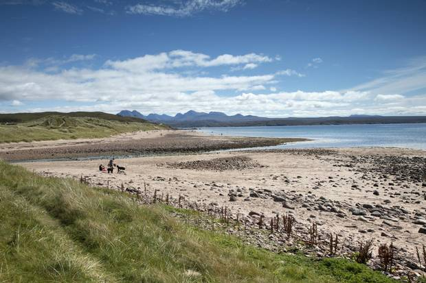 The Big Sand beach area near Gairloch is a great area for beginners.