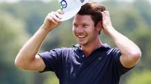 Andrew Parr learned to golf again after suffering a stroke. (Dave Chidley)
