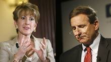 """Former HP CEOs Carly Fiorina and Mark Hurd forgot """"The HP Way,"""" says tech author Michael S. Malone (Reuters/Getty)"""