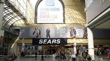 The Sears store at Toronto's Eaton Centre on Yonge St., Toronto Oct. 29, 2013. (Fernando Morales/The Globe and Mail)