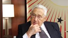 Former U.S. Secretary of State Dr. Henry Kissinger (Globe and Mail video screen capture)