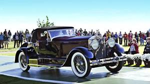 Peter Boyle's 1928 Isotta-Fraschini won Best in Show at 2013 Cobble Concours d'elegance.