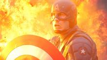 "Chris Evans in a scene from ""Captain America"" (Jay Maidment/Marvel Entertainment)"