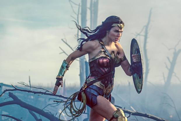 Gal Gadot stars in Wonder Woman.