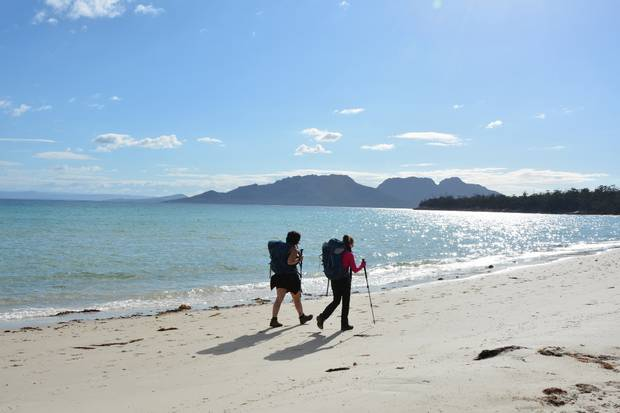 Famed for its ancient forests, pink granite Hazard Mountains, stunning beaches, and plentiful wildlife, the Freycinet Experience Walk along Tasmania's bewitching east coast is one of the 10 Great Walks of Australia.