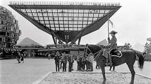 The Canadian Pavilion at Expo '67 in Montreal. (John McNeill/The Globe and Mail)