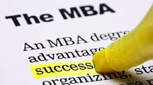 A survey by the Financial Times reported significant advantages for MBA grads who did internships. (DON BAYLEY/iSTOCKPHOTO/DON BAYLEY/iSTOCKPHOTO)