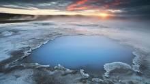 Blue Pool in Hveravellir.