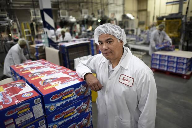 Mark Josephs of Kisko Products at his Woodbridge, Ont., plant.