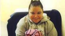 Kinew James, 35, shown in a Facebook photo, was found unconcious in her cell at Saskatchewan's Regional Psychiatric Centre early in the morning of Jan. 20. (FACEBOOK)