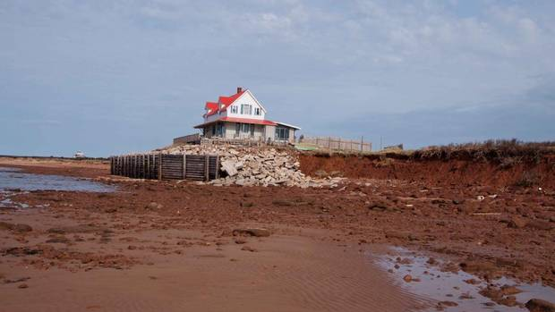 PEI coastal infrastructure at risk
