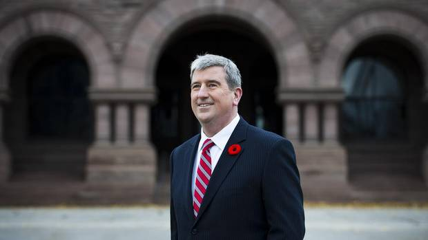 Toronto Centre MPP Glen Murray at Queen's Park in Toronto after announcing his candidacy for the leadership of the Ontario Liberal Party on Sunday November 4, 2012.