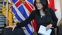 British Columbia NDP MLA Jenny Kwan says the government's proposed apology feels like the discredited 'quick wins' strategy. 'I'm not even sure the government knows what it is apologizing for,' she says. (DARRYL DYCK/THE CANADIAN PRESS)
