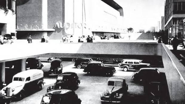 Futurama exhibit at the 1939 World's Fair in New York City.