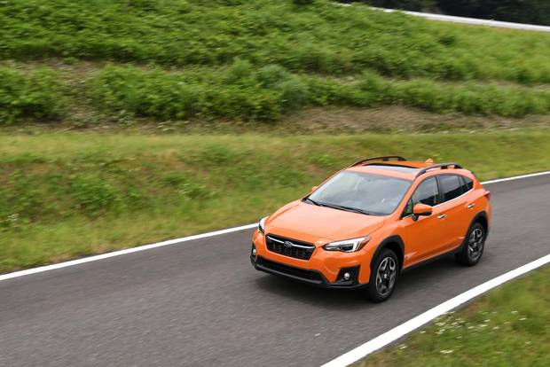 The 2018 Subaru Crosstrek's chassis is considerably stiffer and lighter, for more responsive handling and fuel economy.
