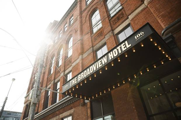 The 126-year-old Broadview Hotel reopened in July after a three-year, $26-million renovation.