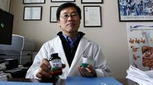 Dr. Young-In J. Kim at St. Michael's Hospital led a study that found the daughters of rats who took folic acid supplements before conception, during pregnancy and while breast-feeding have breast cancer rates twice as high as other rats. (Deborah Baic/The Globe and Mail/Deborah Baic/The Globe and Mail)