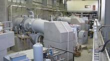 BC Hydro powerhouse and generators. (BC Hydro)
